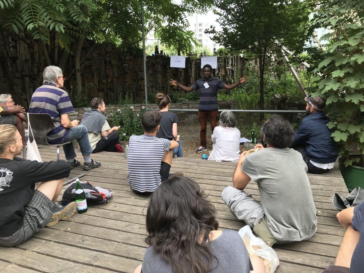 25.7 Permakultur-Workshop (1/3) mit Asmelash Dagne